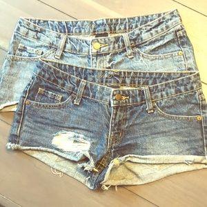💃Bundle 2 Denim Jean Shorts